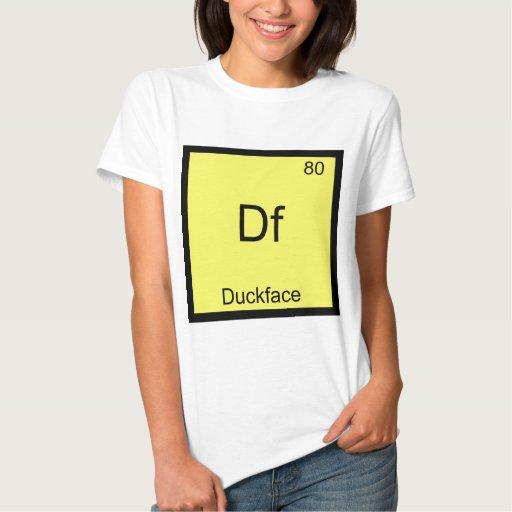 Df - Química divertida de Meme del símbolo del Polera