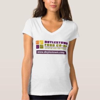 DFC Women's V-neck T-Shirt