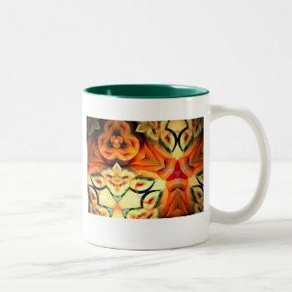 Dfdfdf Two-Tone Coffee Mug