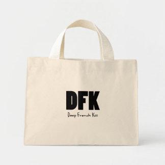 DFK black Tote Bag