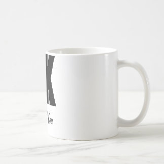 DFK black Classic White Coffee Mug