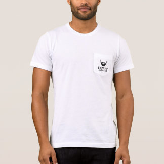 DFS white pocket t-shirt