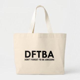 DFTBA CANVAS BAGS