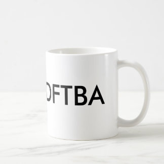 DFTBA, DFTBA CLASSIC WHITE COFFEE MUG