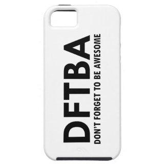 DFTBA iPhone 5 FUNDA