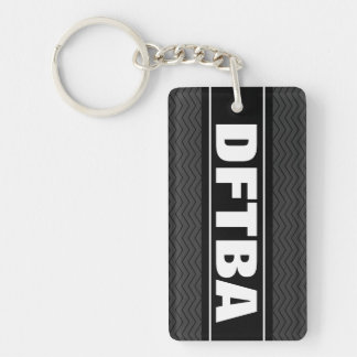 DFTBA keychain | Don't forget to be awesome