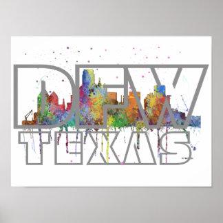 DFW TEXAS - Poster