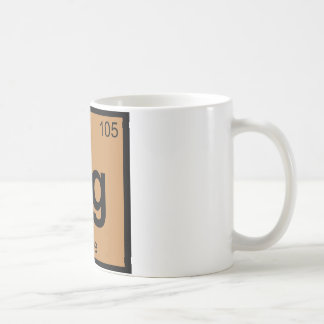 Dg - Doge Meme Chemistry Periodic Table Symbol Coffee Mug