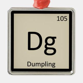 Dg - Dumpling Appetizer Chemistry Periodic Table Christmas Tree Ornaments