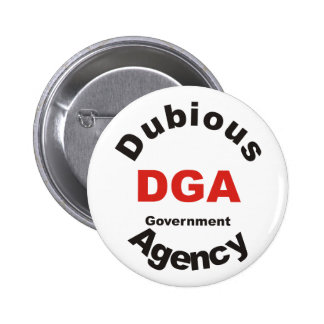 DGA dubious Government Agency Pins