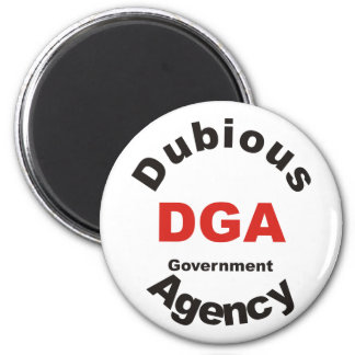 DGA dubious Government Agency Magnet