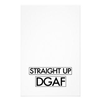 DGAF ascendente recto Papelería De Diseño