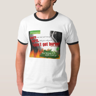 DGB T-shirt with collar and sleeve colors