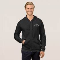 DGBG Vintage Men's California Fleece Zip Hoodie