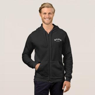 DGBG Vintage Men's California Fleece Zip Hoodie