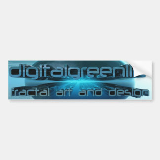 dgl logo chrome bumper sticker