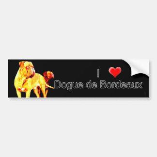 Dgoue de Bordeaux bumper sticker