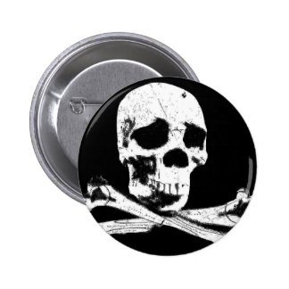 DGT SKULL RE COLORED PINBACK BUTTONS