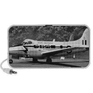 DH104 Devon aircraft iPhone Speakers