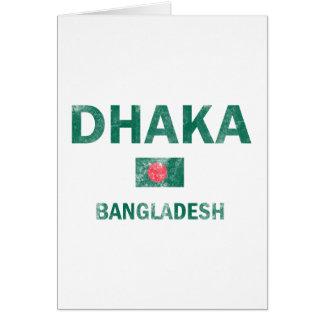Dhaka Bangladesh designs Card