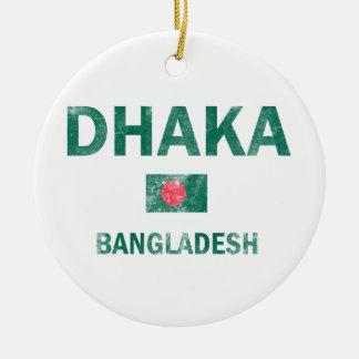 Dhaka Bangladesh designs Christmas Ornament