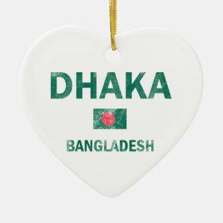 Dhaka Bangladesh designs Christmas Tree Ornaments