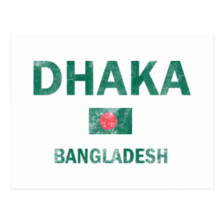 Dhaka Bangladesh designs Postcard