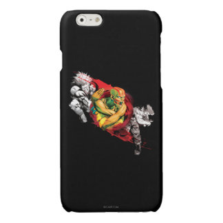 Dhalsim, Blanka & Guile Glossy iPhone 6 Case