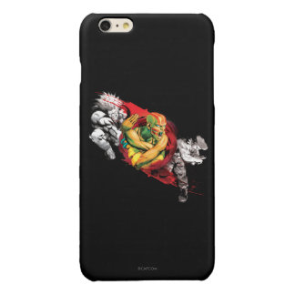Dhalsim, Blanka & Guile Glossy iPhone 6 Plus Case