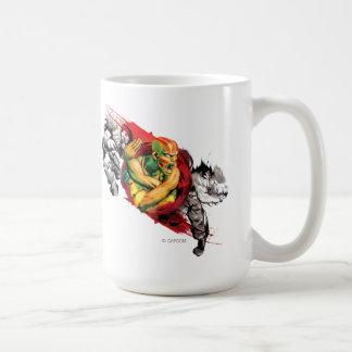 Dhalsim, Blanka & Guile Mugs