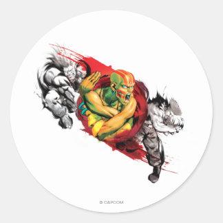 Dhalsim, Blanka & Guile Sticker