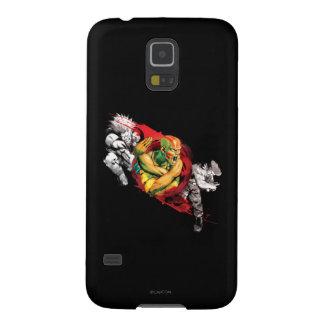 Dhalsim, Blanka y astucia Carcasas De Galaxy S5