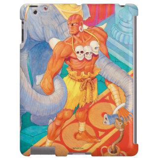 Dhalsim con los animales funda para iPad