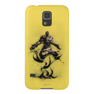 Dhalsim Floating Galaxy S5 Cases