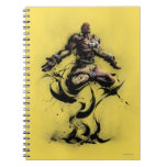 Dhalsim Floating Note Book