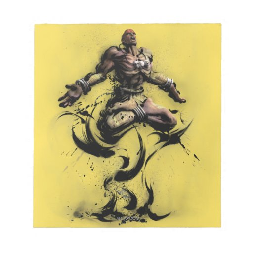 Dhalsim Floating Notepad