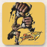 Dhalsim Long Punch Beverage Coasters
