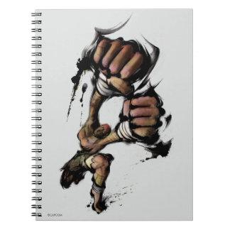 Dhalsim Long Punch Notebook