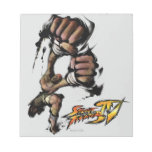 Dhalsim Long Punch Notepad
