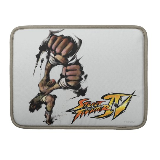 Dhalsim Long Punch Sleeve For MacBook Pro