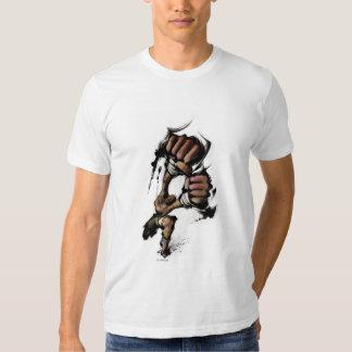 Dhalsim Long Punch Tee Shirt