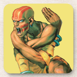 Dhalsim Twisted Beverage Coaster