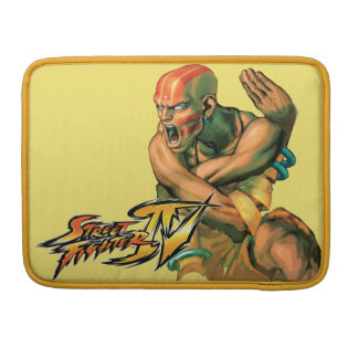 Dhalsim Twisted Sleeve For MacBooks
