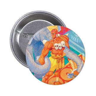 Dhalsim With Animals Buttons