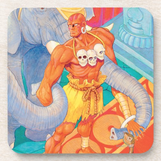 Dhalsim With Animals Coaster