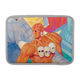 Dhalsim With Animals Sleeve For MacBook Air