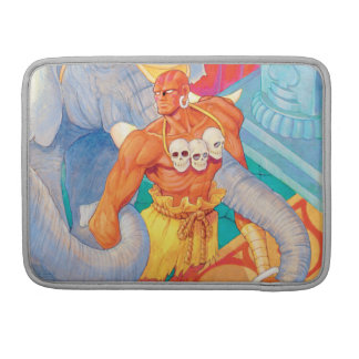 Dhalsim With Animals Sleeves For MacBook Pro