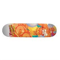 Dhalsim With Animals Skateboard