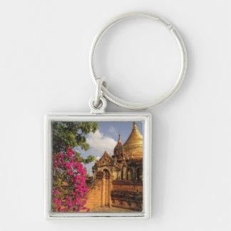 Dhamma Yazaka Pagoda at Bagan (Pagan), Myanmar Keychain