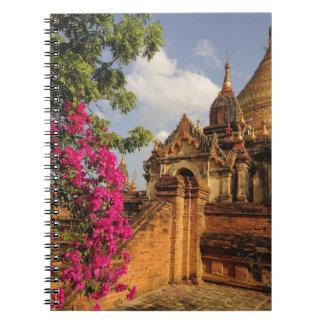 Dhamma Yazaka Pagoda at Bagan (Pagan), Myanmar Note Book
